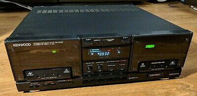 Rare Vintage Kenwood X-93 Twin Cassette Tape deck Player Recorder HiFi Separate