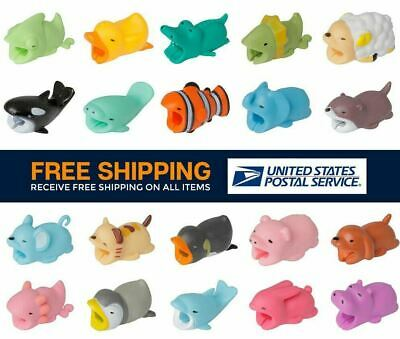 BUY 3 GET 5 FREE !Add 8 to Cart! Cable Bites Protector iPhone Charger USA Seller