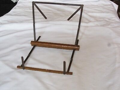 Vintage Antique Campaign Military Folding Music Stand Army