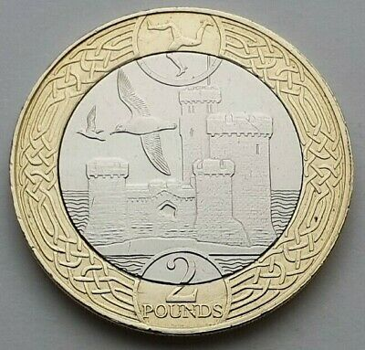 2017 Isle of Man Tower of Refuge £2 coin - Circulated