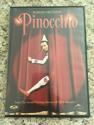 PINOCCHIO Roberto Benigni DVD 2-Disc Set with Chapter Insert US Release Nice