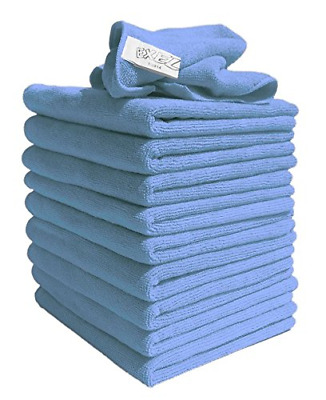 10 Lint Free Microfibre Super Magic Cleaning Cloths For Polishing Washing Wipe