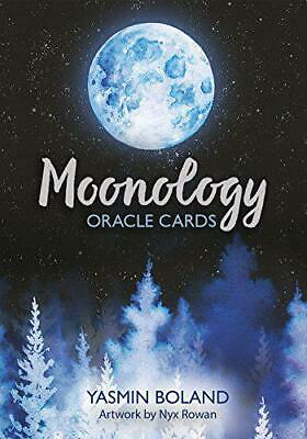 Moonology Oracle Cards: A 44-Card Deck and Guidebook by Boland, Yasmin, Cards Bo