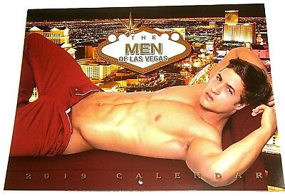 The Men Of Las Vegas - 2019 Calendar - Hot Sexy Male Models - Gay - *private*