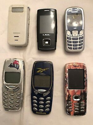 6 Classic Mobile phones