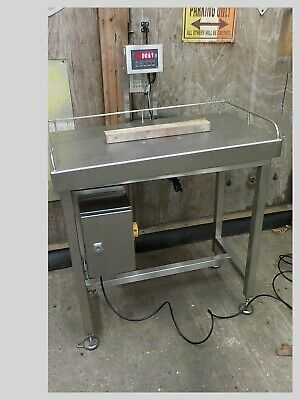 Stainless Steel Work Bench With Weighing Scales Built In