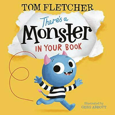 There's a Monster in Your Book by Fletcher, Tom, NEW Book, (Paperback) FREE & Fa