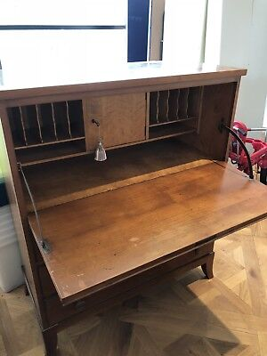 Antique Wooden Secretaire Desk, Extremely Good Quality