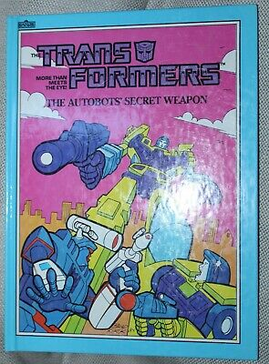 The Transformers, More Than Meets The Eye, The Autobots Secret Weapon, 1985
