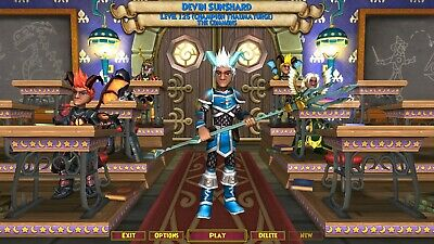 WIZARD101 NEARLY MAXED ALL Schools ALL Loremaster Spells LOTS of CROWNS