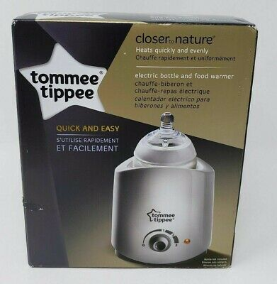 Tommee Tippee Closer to Nature Electric Baby Bottle and Food Warmer - New