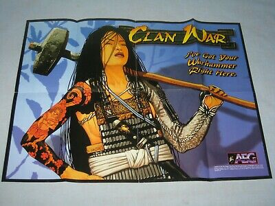 1999 Legend Of The Five Rings Clan War Poster