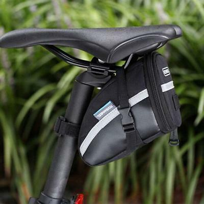 Bicycle Bike Saddle Bag Storage Cycling Seat Pouch Rear Tail Tool Bag MH