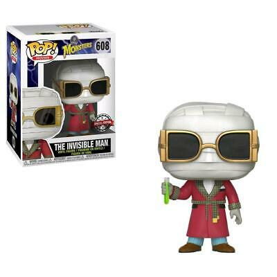 Figurine Funko Pop - Vinyl 608 Invisible Man -  Movies Monsters Exclusive Neuf