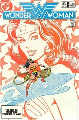 Wonder Woman (1st Series DC) #306 1983 VG/FN 5.0 Stock Image Low Grade