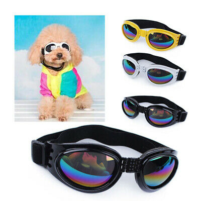 1 Pair Small Pet Dog Goggles Doggles UV Sunglasses Eye Protection Fashion Decor