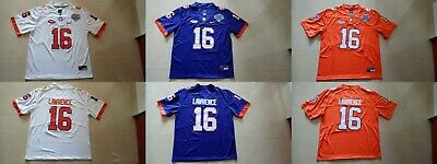 a6b76b25ccd Trevor Lawrence #16 Clemson Tigers Goodyear Cotton Bowl Stitched Jersey S -  3XL