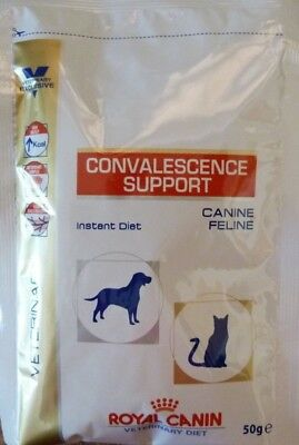 RC CONVALESCENCE SUPPORT- FOR DOGS &CATS - 50g SACHET MAKES COMPLETE LIQUID FEED