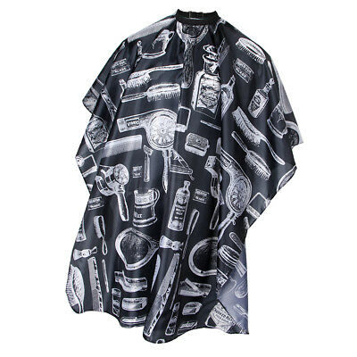 Hairdressing Tools Patterned Barber Gown Beard Catcher Hair Cutting Cape