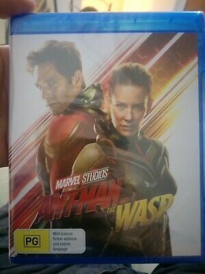 Ant-man and the Wasp Blu-Ray Marvel Brand New + Sealed Paul Rudd, Michael Pena