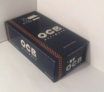 OCB DOUBLE ULTIMATE rolling paper regular size 70mm - 2500 papers