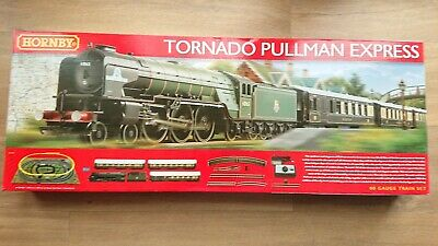 "HORNBY R1169 ""Tornado"" Pullman Express Electric Train Set DCC Ready"