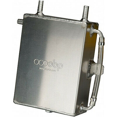 OBP 2 Litre Square Bulkhead Mounted Oil Catch Tank