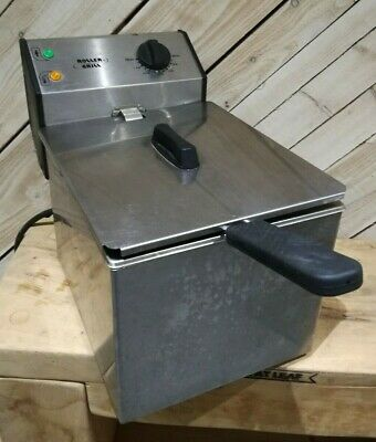 Roller Grill FD80 Single 8ltr Counter Top Deep Fat Fryer