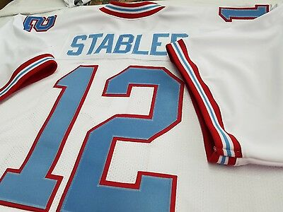 00 HOUSTON OILERS Custom Design Football Jersey Your Name Number ... 7372a0b59