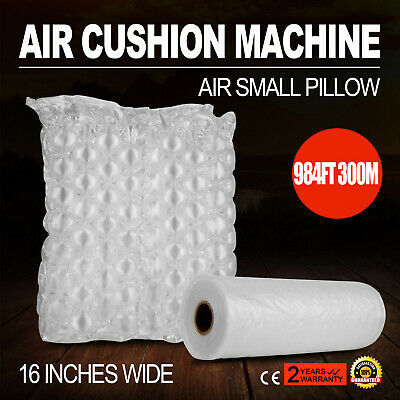QUILT AIR PILLOW CUSHION MACHINE 984ft FILM FOR MATERIALS NATURAL CLEAN AND TIDY