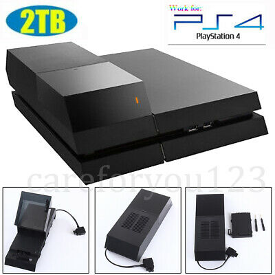 """2TB 3.5"""" Hard Drive Data Bank Game For PlayStation 4 Peripherals Accessories"""