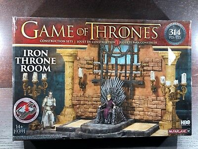 Game of Thrones - McFarlane - Iron Throne Room Construction Sets NEW