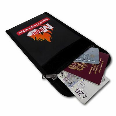 Minder Fireproof Bag - Protect Documents Money Valuables etc from Fire and Smoke
