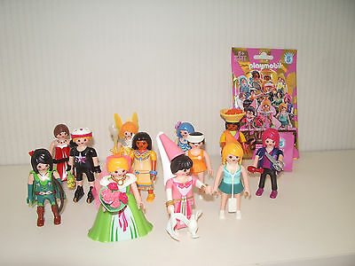 /// Figurine serie 5 figures Playmobil 5461 GIRL FILLE coiffeuse princesse NEUF