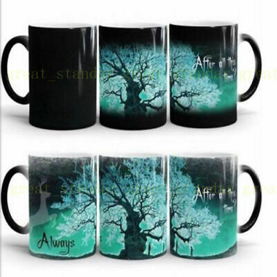 Magic Color Change Coffee Harry Potter Mug Tea Hot Cup After all this tim Gifts