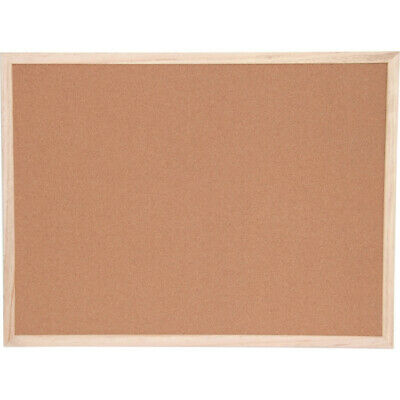 Offis Cork Notice Board 1200X900Mm Wood Trim