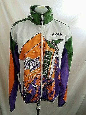 Champ Sys Cycling Full Zip Long Sleeve Jersey Jacket Size Large Vest 459234bbd