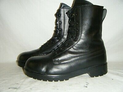 Genuine British Army Cadets Issue Vintage Assault Combat Leather Boots Size 11 L