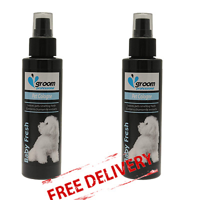 Pet Grooming Deodorant Baby Dog Cologne Perfume Spray Puppy Fresh Scent 100ml