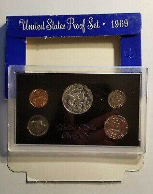 1969-S United States Mint Proof Set With Box