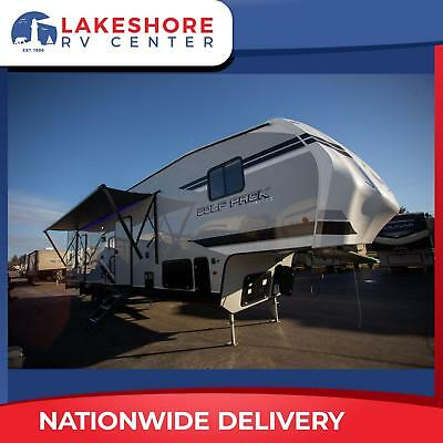 New Forest River Wolf Pack 315PACK12 Toy Hauler 5th Wheel Camper RV 12' Garage
