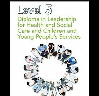 level 5 diploma, leadership and management. 15 Complete signed off units