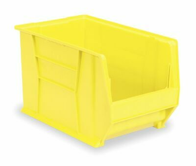 Akro-Mils Super Size Bin, 20 In.L, 18-3/8 In.W, 12 In - 30283YELLO