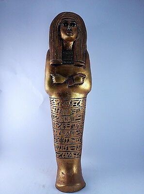 RARE ANCIENT EGYPTIAN ANTIQUE Shabti Queen Ushabti Tomb 1125-1050 BC