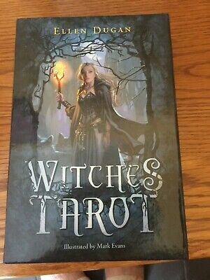 Witches Tarot Deck Сard Rider-Waite Smith English Version 78 Cards Set US