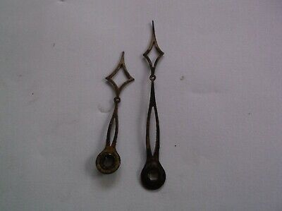 Hac Pair Of Brass Hands From An Old Mantle Clock Ref Hac3