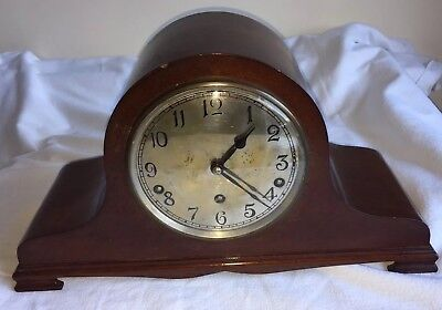 Vintage Garrard Westminster chime mantle clock.