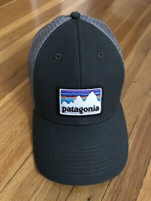 28345cafea9 Patagonia Mens P6 LoPro Trucker Snapback Cap Hat 38016 Forge Grey  Adjustable New