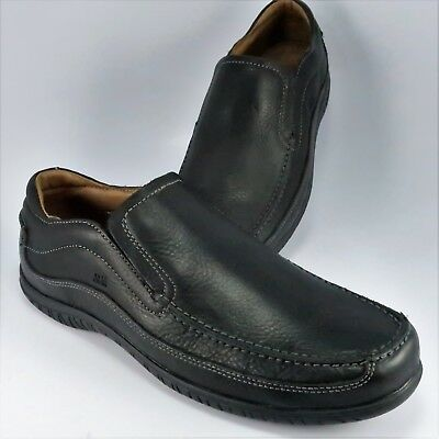 dad01927e506e JOHNSTON & MURPHY J&M Driving Moccasins Mens Size 11.5M Black Leather  Loafers
