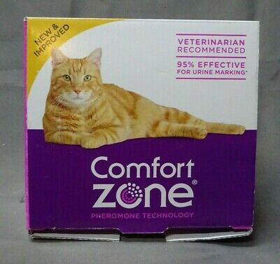 Comfort Zone Calming Diffuser for Cats, 3 Diffusers + 6 Refills (LC160)